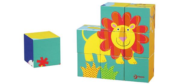 高乐迪产品中心 区角玩具 益智系列 积木拼图  这个积木拼图是个立体