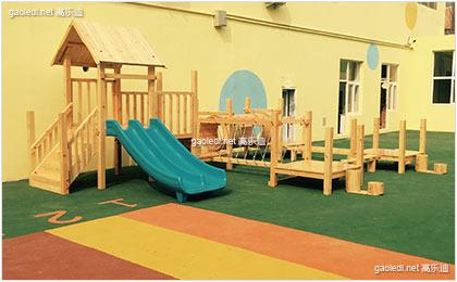 燕郊智德幼儿园组合滑梯