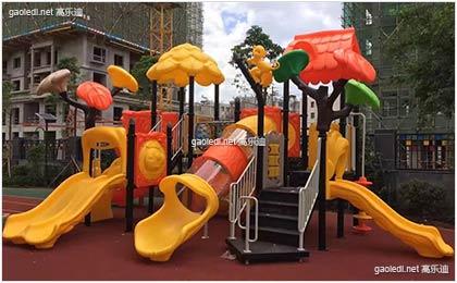 燕郊春蕾幼儿园组合滑梯