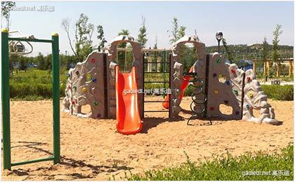伊金霍洛旗滨河公园儿童游乐设施
