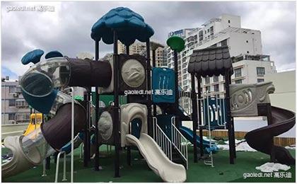 通州瑞都国际幼儿园儿童滑梯