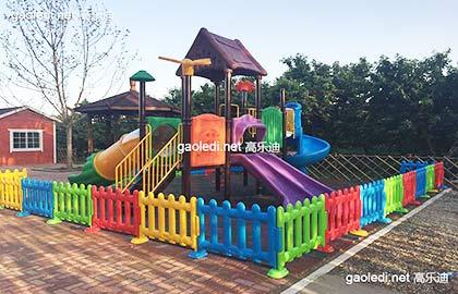 顺义区顺鑫采摘园儿童组合滑梯