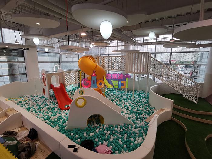 天津尼莫游泳馆亲子乐园_无动力游乐设备