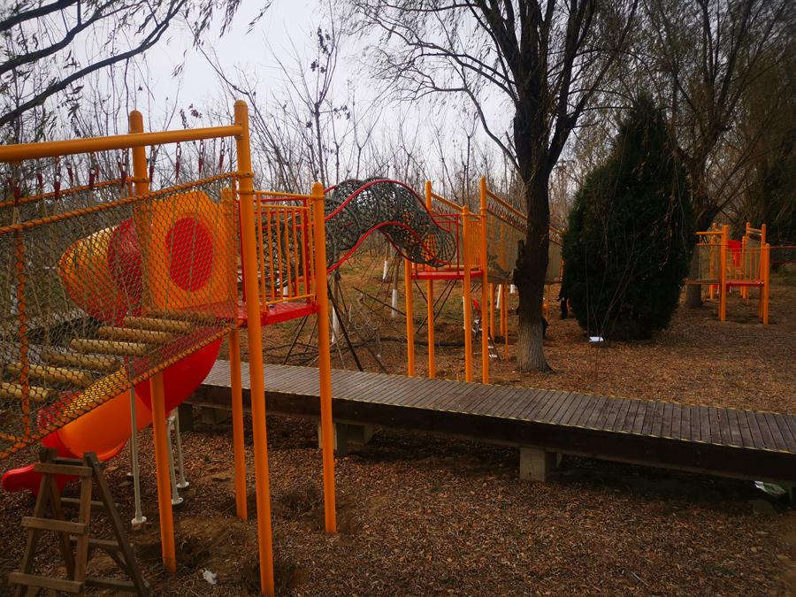 怀柔城市森林公园-儿童空中拓展乐园