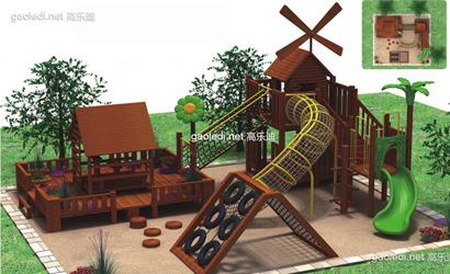 木质滑梯A-001