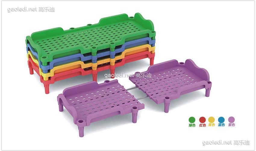 塑料幼儿床D-SLC001