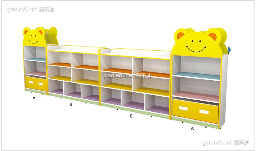 维尼熊造型玩具柜