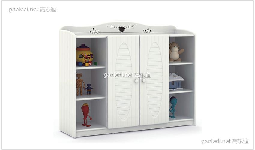 白色贵族10格储物柜