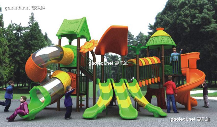 儿童滑梯-森林滑梯A-SL002