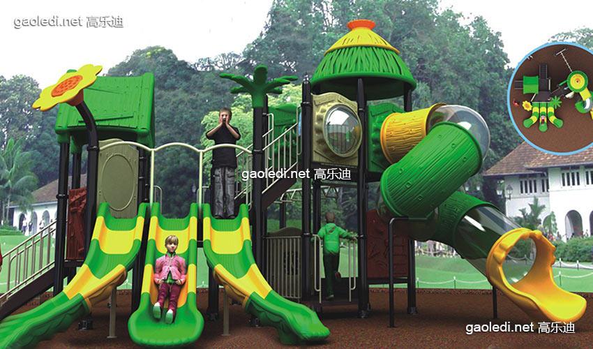森林滑梯A-SL019