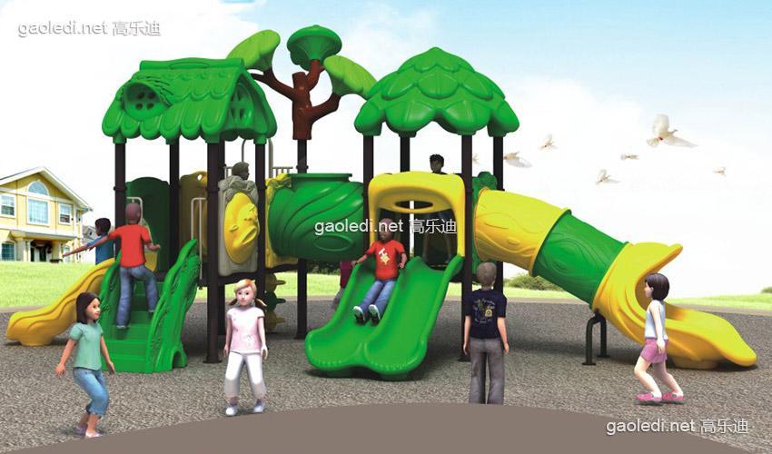 森林滑梯A-SL027