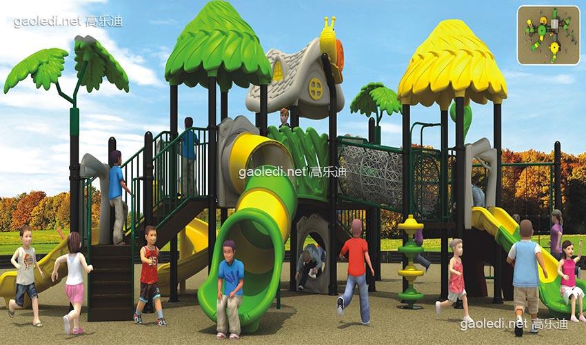 儿童滑梯-森林滑梯A-SL007