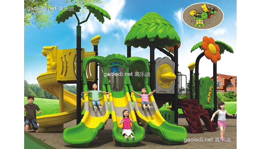 儿童滑梯-森林滑梯A-SL008