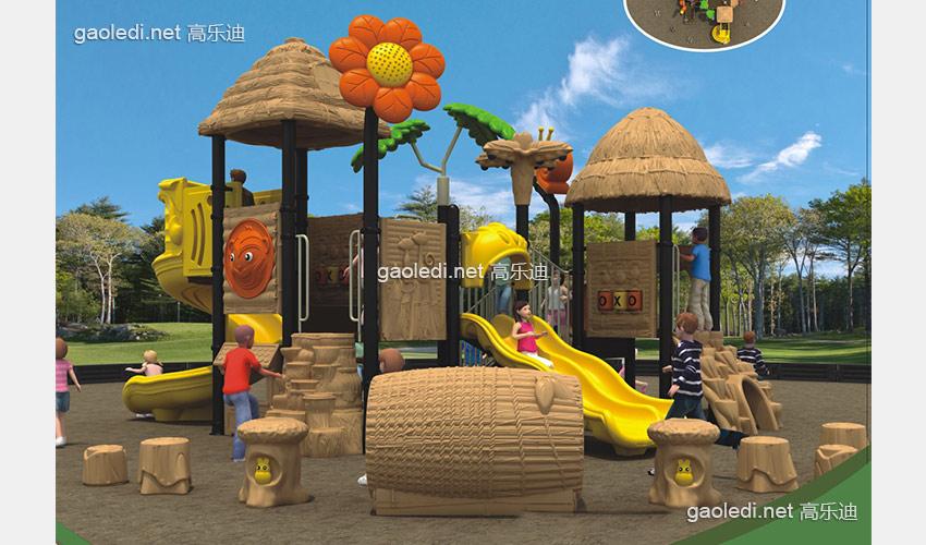 儿童滑梯-森林滑梯A-SL041