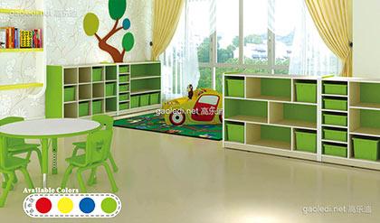 波特果绿课室组合柜