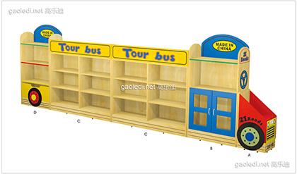 巴士玩具柜
