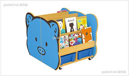 猪兜兜造型书架