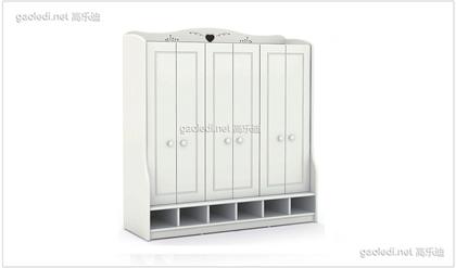 幼儿园鞋柜D-XG001