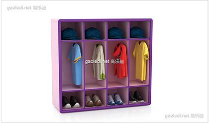 幼儿园鞋柜D-XG003