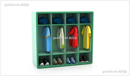 幼儿园鞋柜D-XG005