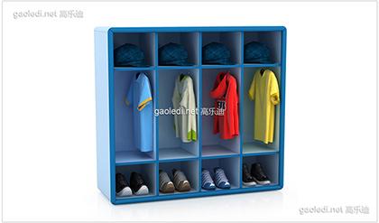幼儿园鞋柜D-XG004