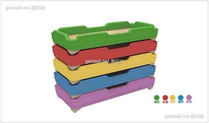 塑料幼儿床D-SLC002
