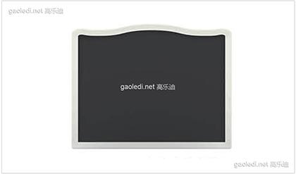白色贵族黑板D-HB004