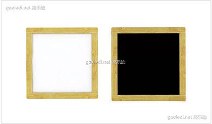 橡木黑白板D-HB003