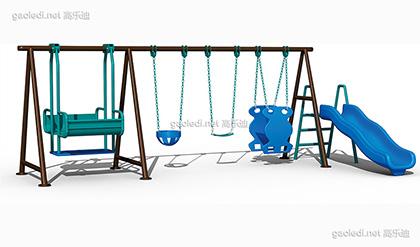 儿童秋千滑梯C-QQ002