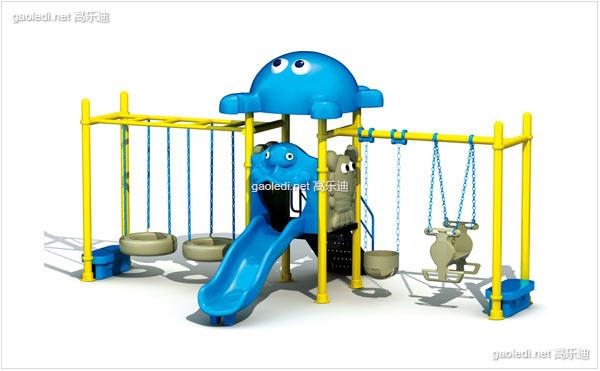 幼儿园秋千滑梯组合C - QQ001