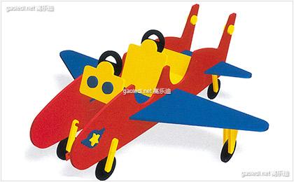 两座小飞机摇摇乐