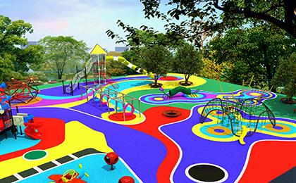 儿童户外游乐设施规划图
