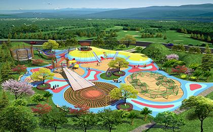 大型户外儿童游乐设施规划图