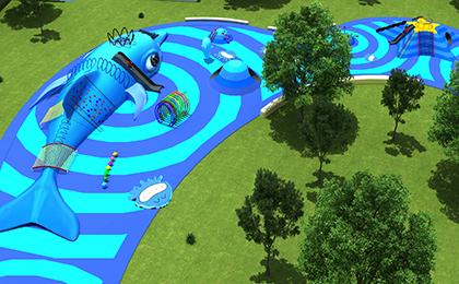 户外儿童游乐设备规划图
