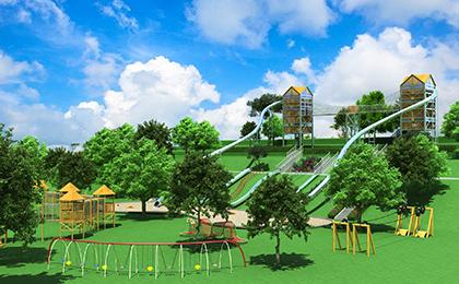 室外儿童乐园规划图