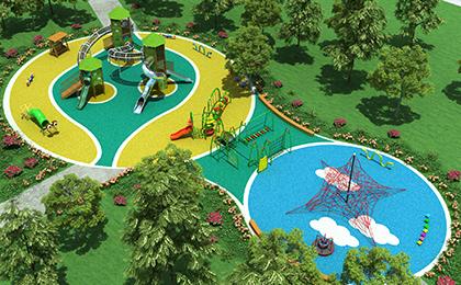 户外儿童娱乐设施规划图
