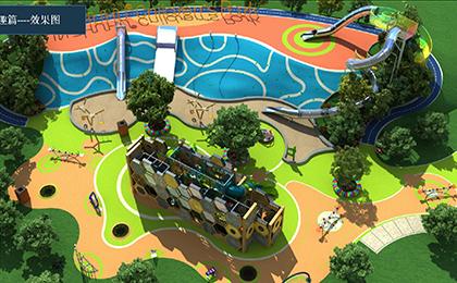 儿童户外游乐场设备规划图