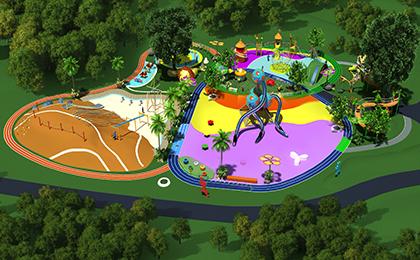 儿童户外拓展乐园规划图