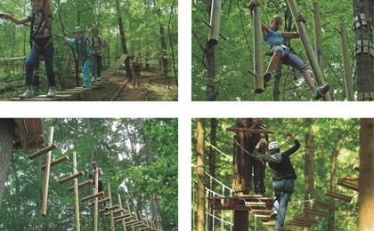 木质攀爬架43-66-03
