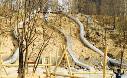 大型不锈钢滑梯