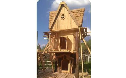 木制滑梯43-66-06