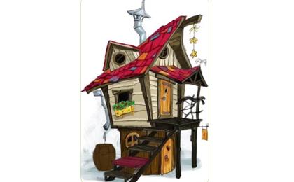 木制滑梯43-66-07