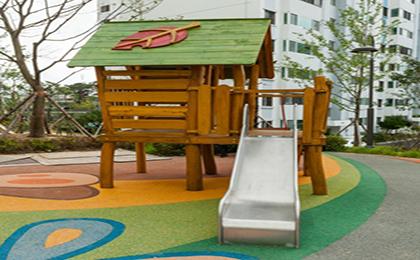 木制滑梯43-66-11