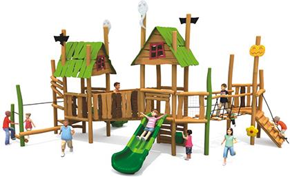木制滑梯43-66-30