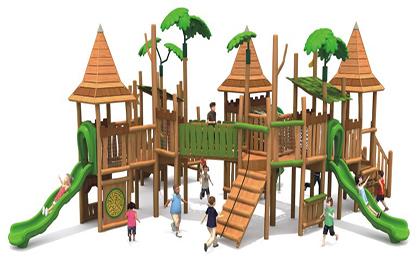 木制滑梯43-66-32