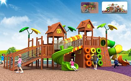 木制滑梯43-66-35