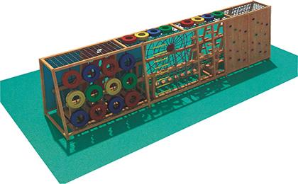 木制滑梯43-66-48