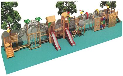 木制滑梯43-66-49
