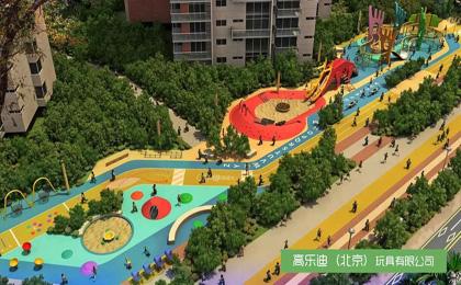 户外儿童乐园设施规划图