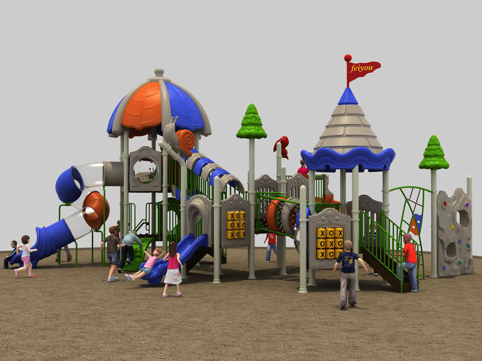 大型儿童塑料滑梯